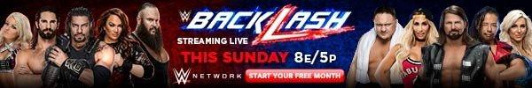 Watch WWE Backlash Live on WWE Network