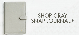 Shop Gray Snap Journal