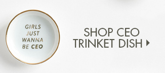 Shop CEO Trinket Dish