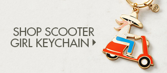 Shop Scooter Girl Keychain