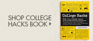 Shop College Hacks Book
