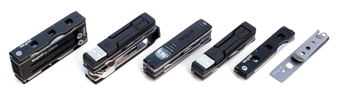 Anywhere Tools - Stackable tech and tool modules by Keyport