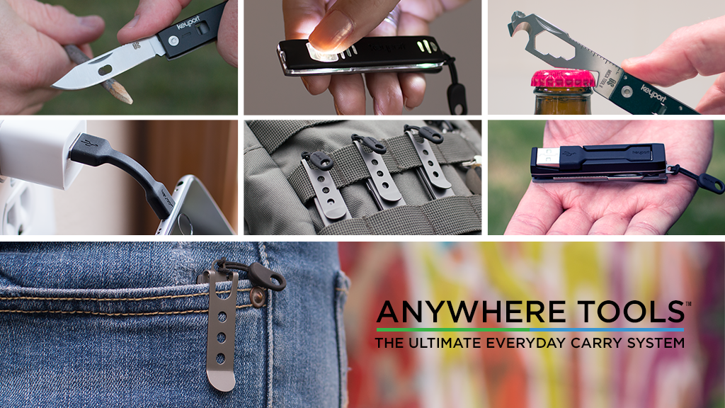 Anywhere Tools - The Ultimate Modular Wearable Everyday Carry System
