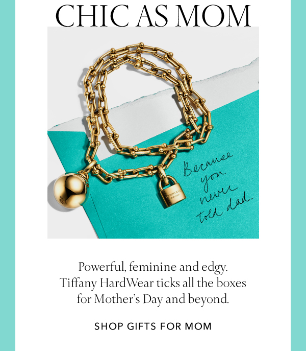 e2ee037013c33 Tiffany: Elegant, Edgy Mother's Day Gifts | Milled