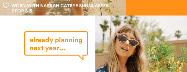 Cateye Sunglasses | Shop Now