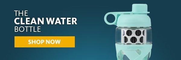 clean water bottle