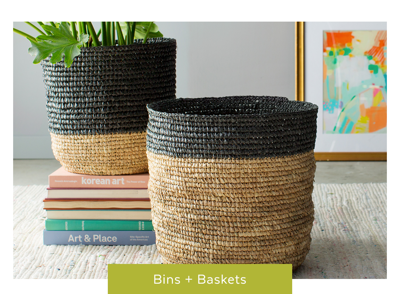 Bins and Baskets