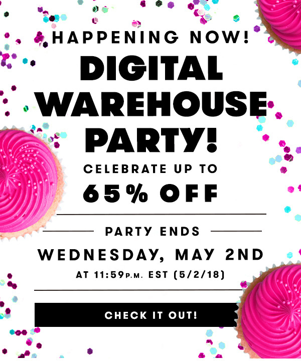SHOP DIGITAL WAREHOUSE PARTY