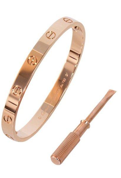 Shop Cartier Love Bracelet