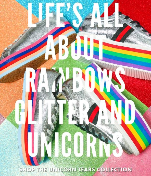 Life's All About Rainbows, Glitter, and Rainbows | Shop The Unicorn Tears Collection