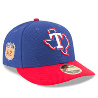 Texas Rangers New Era 2017 Spring Training Diamond Era Low Profile 59FIFTY Fitted Hat - Royal
