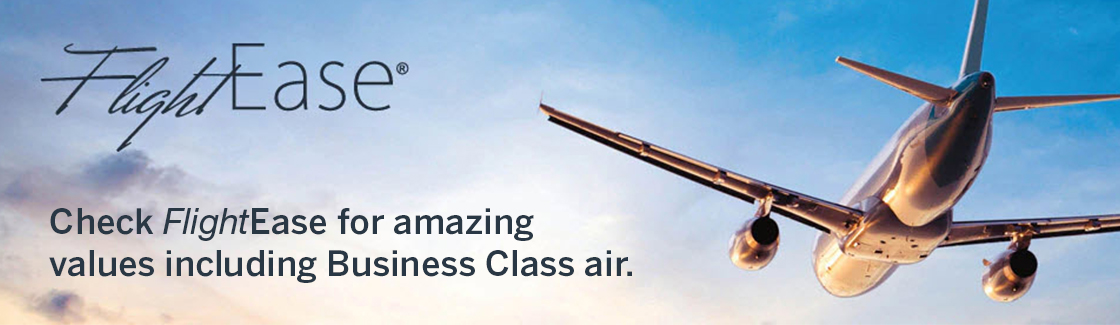 FlightEase | Check FlightEase for amazing values including Business Class Air