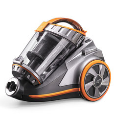 PUPPYOO WP9005B Cyclonic Bagless Canister Vacuum Cleaner