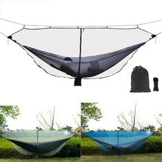 Outdoor Double Hammock Mosquito Insect Bed Mesh Net
