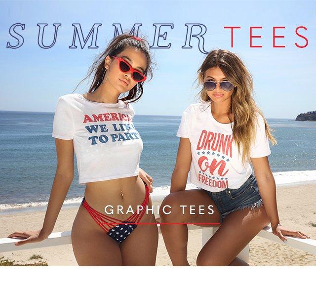 Summer Tees - Shop Graphic Tees