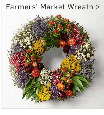 Farmers Market Wreath