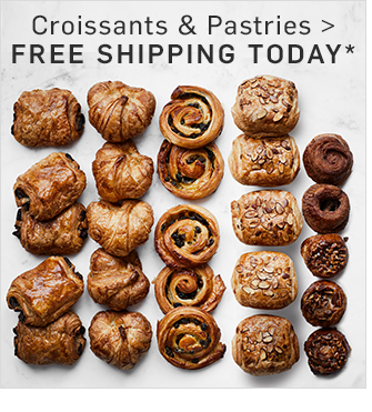 Croissants & Pastries - FREE SHIPPING TODAY*