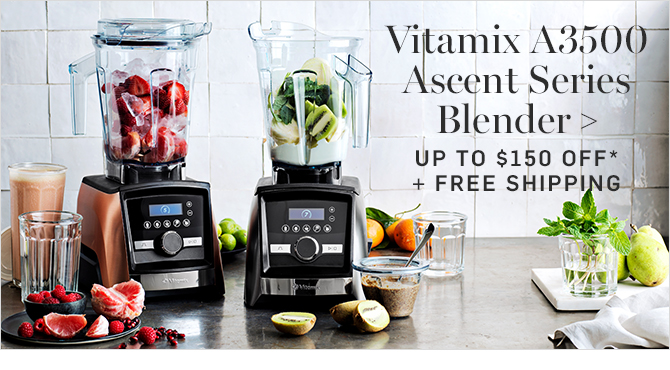 Vitamix A3500 Ascent Series Blender - UP TO $150 OFF* + FREE SHIPPING