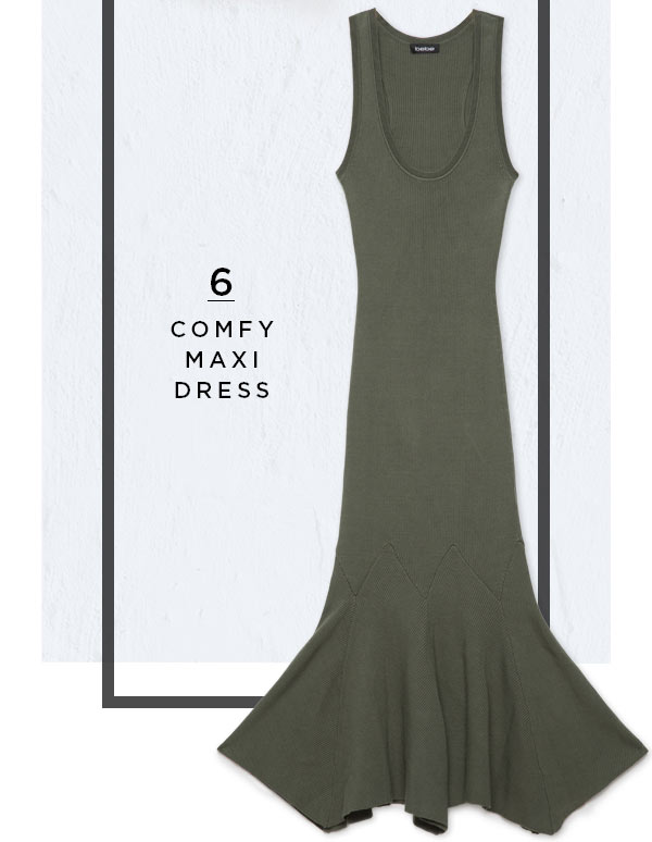 6. Comfy Maxi Dress