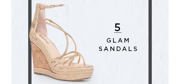 5. Glam Sandals