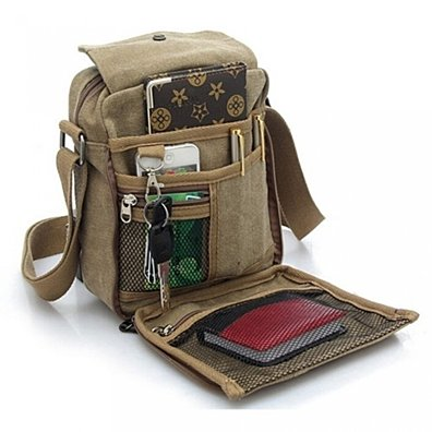 Multifunctional Canvas Traveling Bag