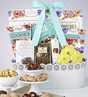 Full Bloom Sweet Treats Basket SHOP NOW