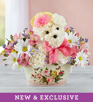 Precious Pup(TM)  Same-Day Local Florist Delivery SHOP NOW