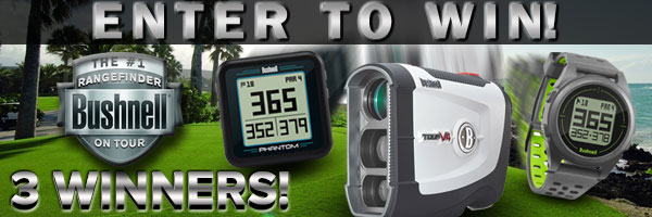 Enter to WIN a FREE Bushnell Rangefinder or GPS Device!