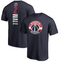 John Wall Washington Wizards Fanatics Branded Backer Name & Number T-Shirt - Navy