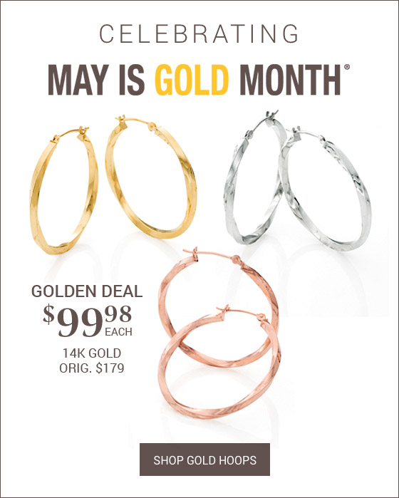 May is Gold Month It's A Ring Thing When It Comes To Gold, More is More!