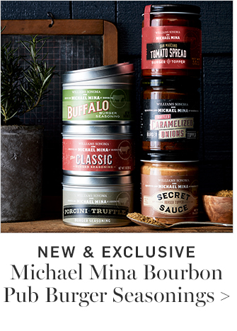 NEW & EXCLUSIVE - Michael Mina Bourbon Pub Burger Seasonings