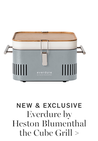 NEW & EXCLUSIVE - Everdure by Heston Blumenthal the Cube Grill
