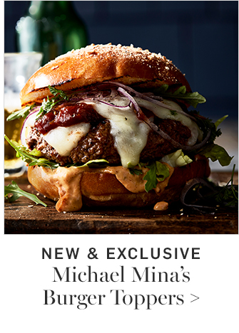 NEW & EXCLUSIVE - Michael Minas Burger Toppers