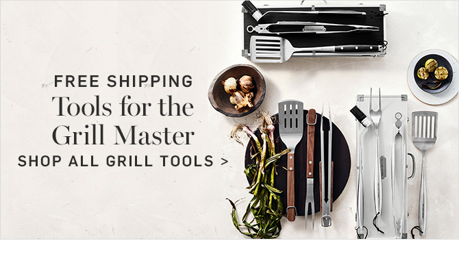 FREE SHIPPING - Tools for the Grill Master - SHOP ALL GRILL TOOLS