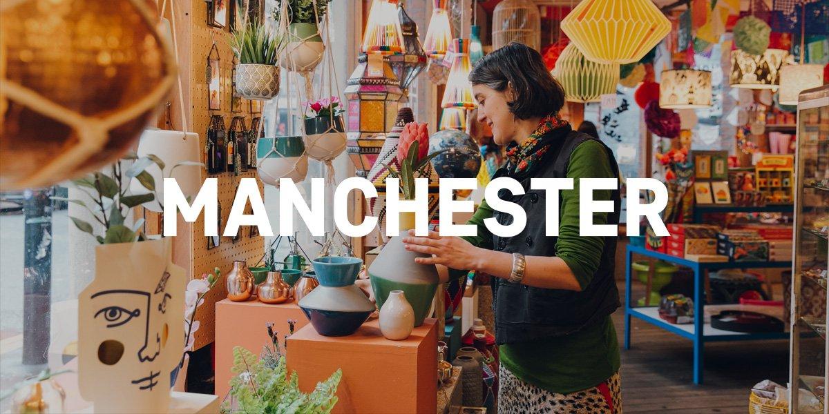 Manchester shops