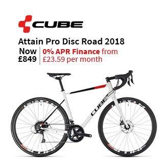 Cube Attain Pro Disc 2018 - Road Bike
