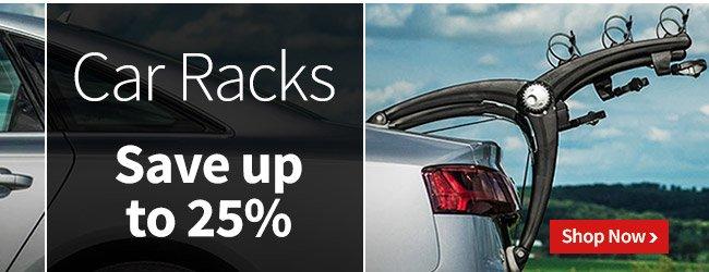 Car Racks - Save up to 25%