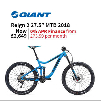 Giant Reign 2 27.5in Mountain Bike 2018 - Enduro Full Suspension MTB