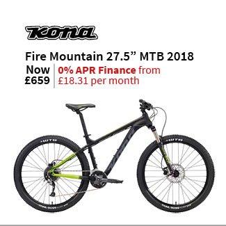 Kona Fire Mountain 27.5in Mountain Bike 2018 - Hardtail MTB