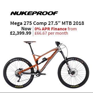 Nukeproof Mega 275 Comp 27.5in Mountain Bike 2018 - Enduro Full Suspension MTB