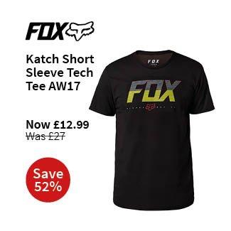 Fox Clothing Katch Short Sleeve Tech Tee AW17