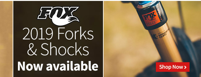 2019 Fox Forks & Shocks Now Available