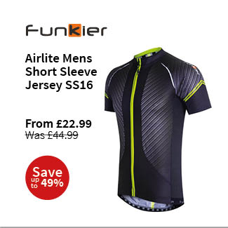 Funkier Airlite Mens Short Sleeve Jersey SS16