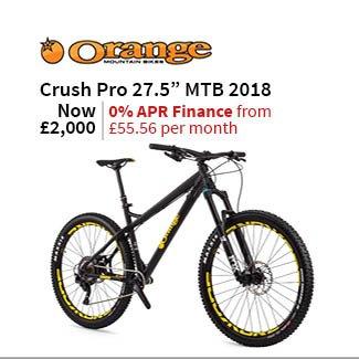 Orange Crush Pro 27.5in Mountain Bike 2018 - Hardtail MTB