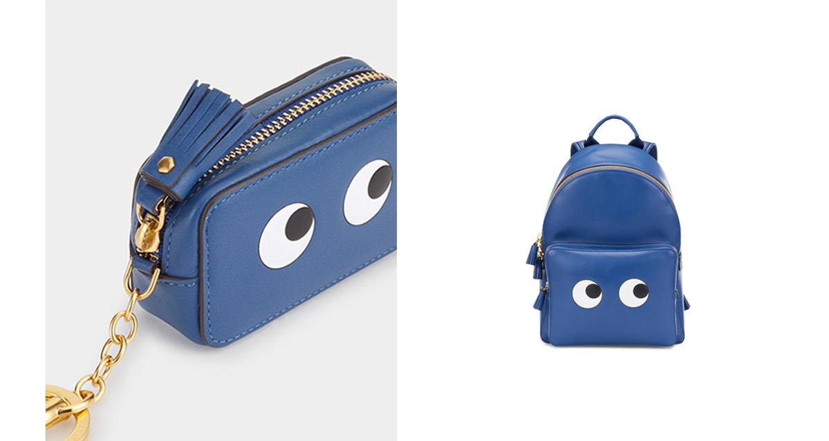 eyes collection backpack and bag