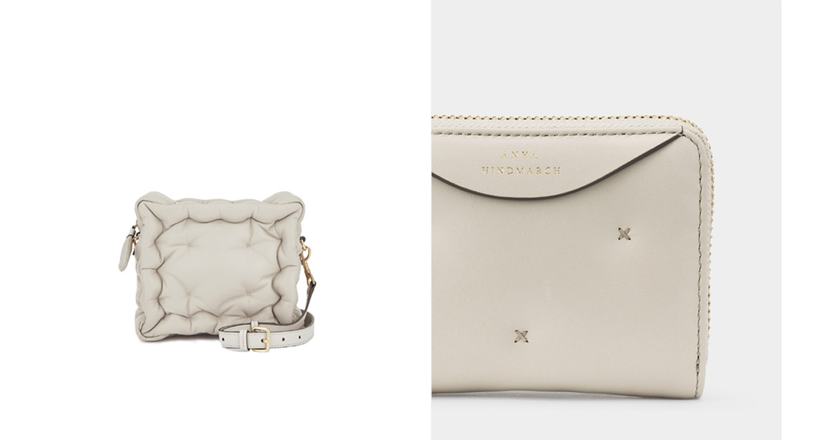 chubby wallet and cross-body bag
