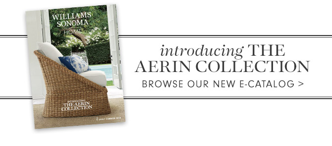 introducing THE AERIN COLLECTION - BROWSE OUR NEW E-CATALOG