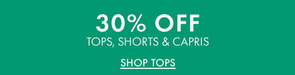 Shop Tops For 30% Off