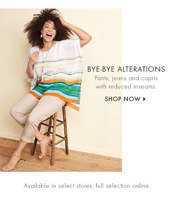 Bye Bye Alterations