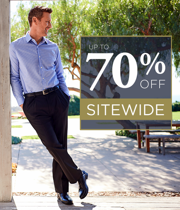 70% OFF SITEWIDE
